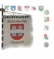 Bataillon Innsbruck / Fahne Bataillon Innsbruck
