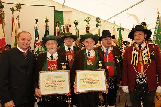 Sprenger Martin / bataillonsfest_in_achenkirch ehrungen