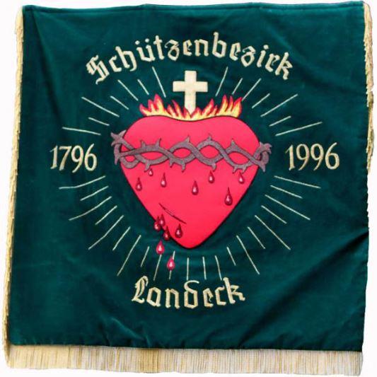tiroler-schuetzen.at / Fahne Herz-Jesu