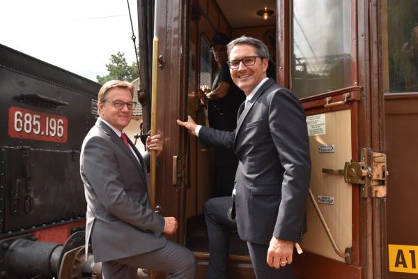 Thomas Saurer / 150 Jahre Brennerbahn / Zum Vergrößern auf das Bild klicken