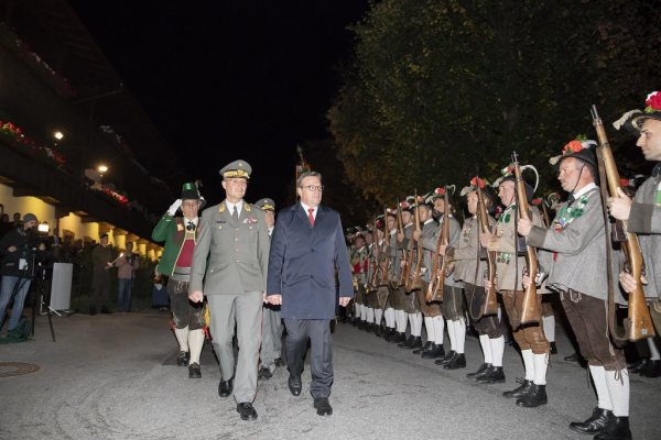 Land Tirol Sedlak / Sicherheitskonferenz Alpbach / Zum Vergrößern auf das Bild klicken