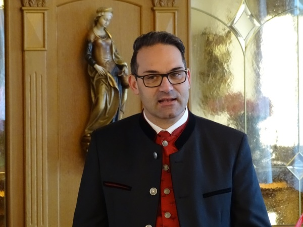 Herbert Rettl / Bezirksversammlung Hall 2018 / Zum Vergrößern auf das Bild klicken