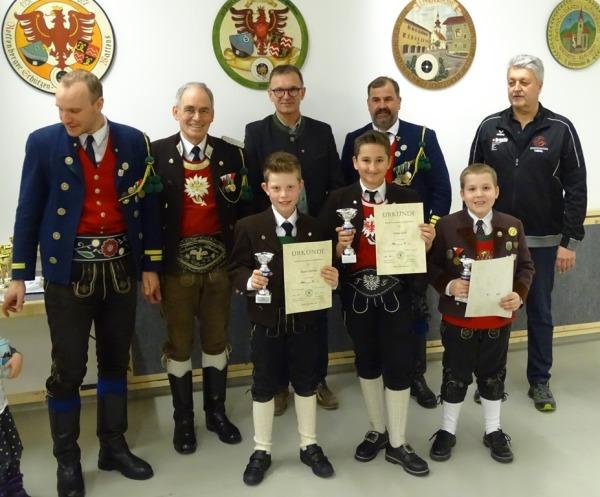 Herbert Rettl / Bezirks JS Schießen Hall 2018 / Zum Vergrößern auf das Bild klicken