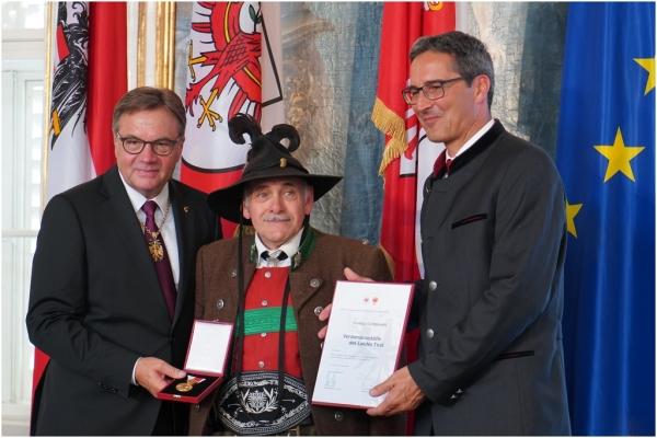 Thomas Saurer / Verdienstmedaillen / Zum Vergrößern auf das Bild klicken