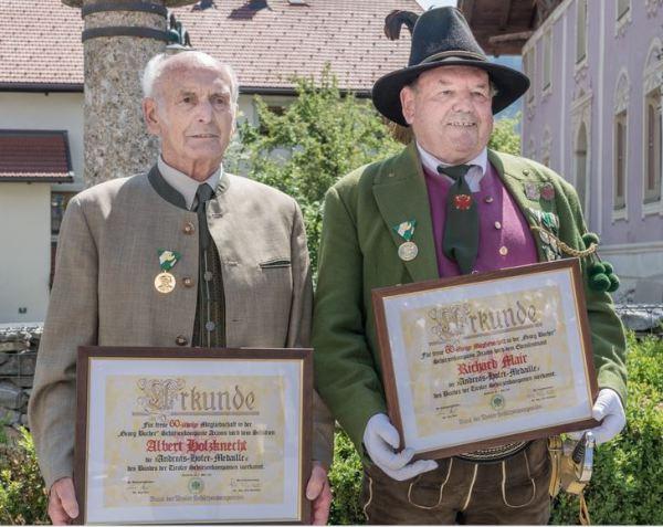 Thomas Saurer / 60 Jahre Axamer Schützen / Zum Vergrößern auf das Bild klicken