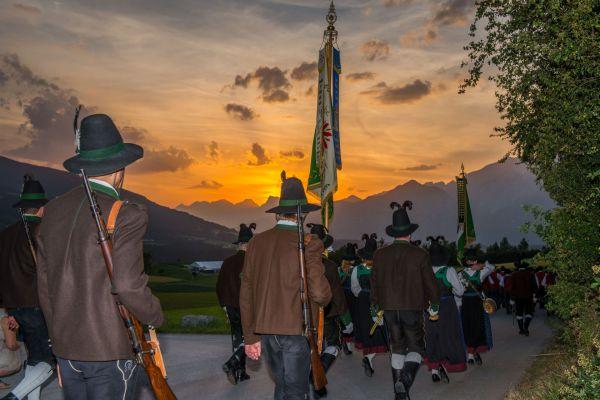 Schützenbataillon Sonnenburg / Bataillonsfest Patsch / Zum Vergrößern auf das Bild klicken