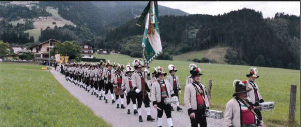 Kompanie Aschau / Bataillonsfest Zillertal / Zum Vergrößern auf das Bild klicken