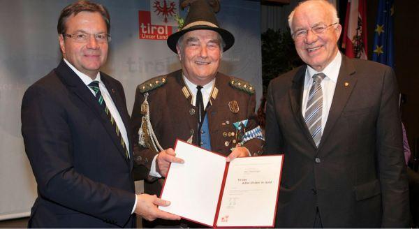 Thomas Saurer / Auszeichnung Steininger / Zum Vergrößern auf das Bild klicken