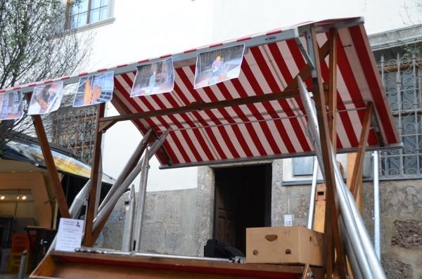 Speckbacher Schützen Hall / Orgelpfeifenverkauf / Zum Vergrößern auf das Bild klicken