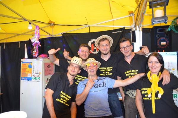 Speckbacher Schützen Hall / Haller StaTTfest / Zum Vergrößern auf das Bild klicken