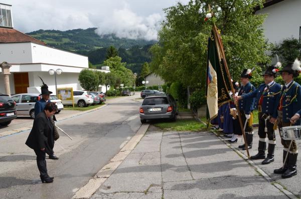 Speckbacher Schützen Hall / Bliem 60er / Zum Vergrößern auf das Bild klicken