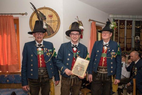 Speckbacher Schützen Hall / Jahrtag Hall 2017 / Zum Vergrößern auf das Bild klicken
