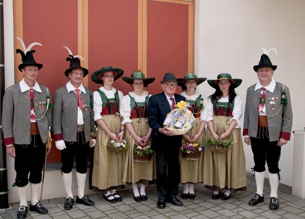Bergmann Hans / Geburtstagsjubilar Schett Anton