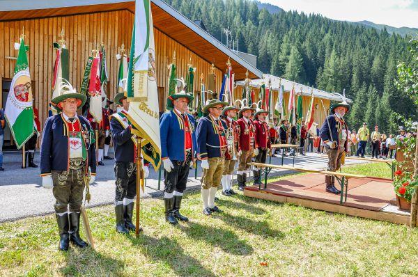 Schützenkompanie Schmirn / Bataillonsfest Schmirn / Zum Vergrößern auf das Bild klicken