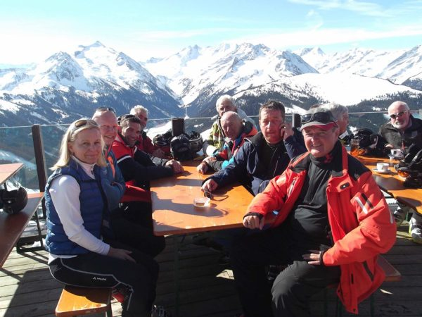 Gerhard Hauser / Skitag Zillertal / Zum Vergrößern auf das Bild klicken