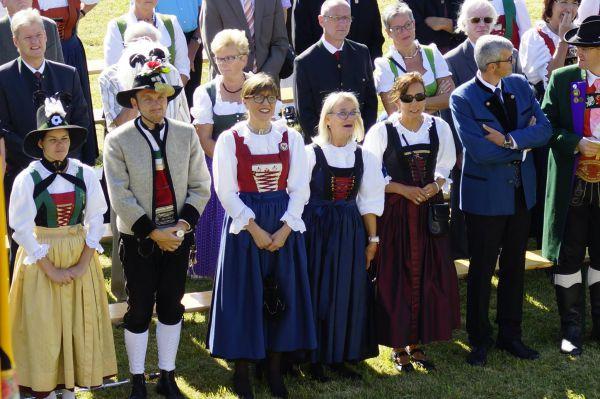 Schützenkompanie Seefeld / Ehrengäste Seefeld / Zum Vergrößern auf das Bild klicken