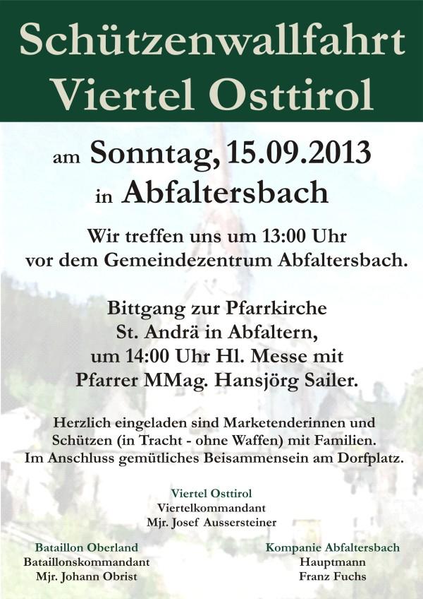 Rossmann Patrick / einladung_schutzenwallfahrt_viertel_osttirol_in_abfaltersbach