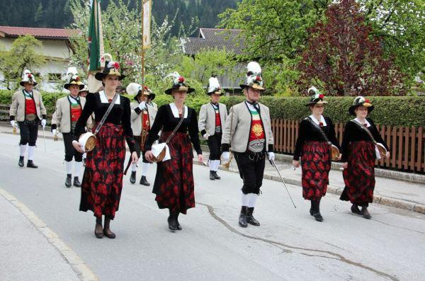 Alfons Turozzi / Gauderfest Bataillon Zillertal / Zum Vergrößern auf das Bild klicken