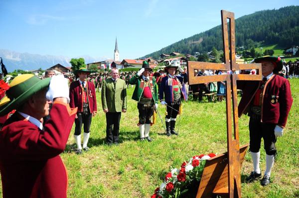 Bataillon Sonnenburg / Gedenken / Zum Vergrößern auf das Bild klicken