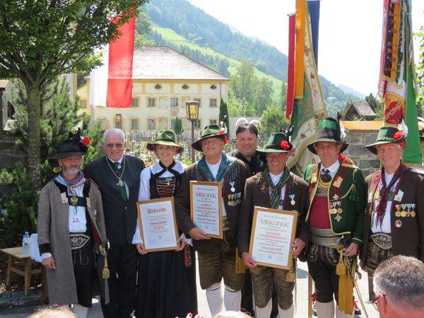 Josef Außersteiner / Geehrte Matrei / Zum Vergrößern auf das Bild klicken