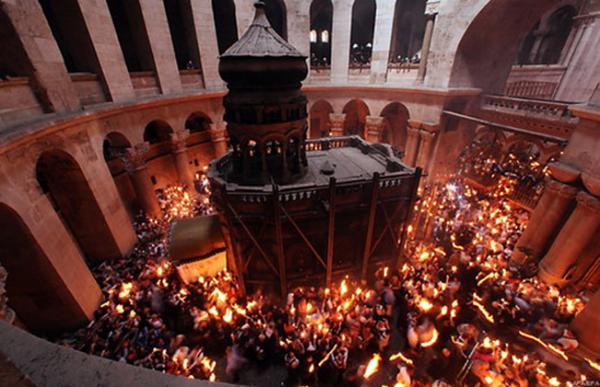 heiliges-antlitz.de / grabeskirche / Zum Vergrößern auf das Bild klicken