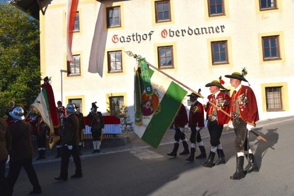 Bataillon Sonnenburg / Heidi Kastl / 60 Jahre Grinzens / Zum Vergrößern auf das Bild klicken