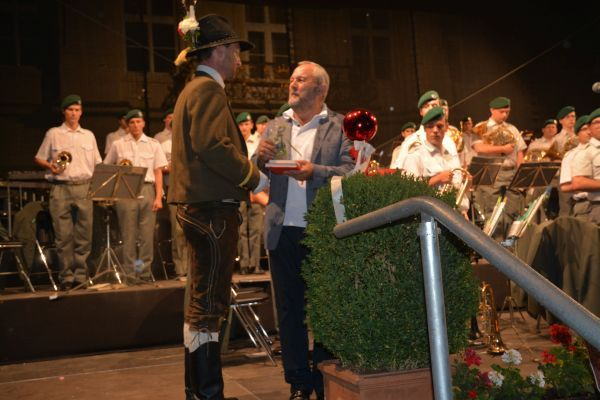 Hans Gregoritsch / Promenadenkonzert Amras / Zum Vergrößern auf das Bild klicken