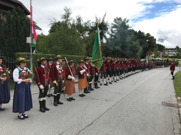 Thomas Saurer / Bataillonsfest Lans / Zum Vergrößern auf das Bild klicken