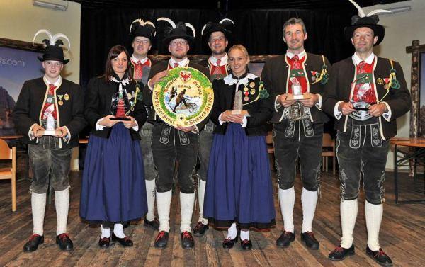 SSB Online Team / Sieger Kompaniewertung SK Taisten / Zum Vergrößern auf das Bild klicken