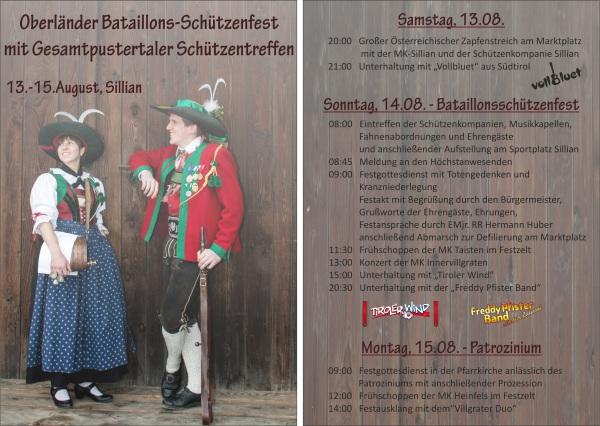SK Sillian / kurzfolder_160525-1_bat_fest_sillian0 / Zum Vergrößern auf das Bild klicken