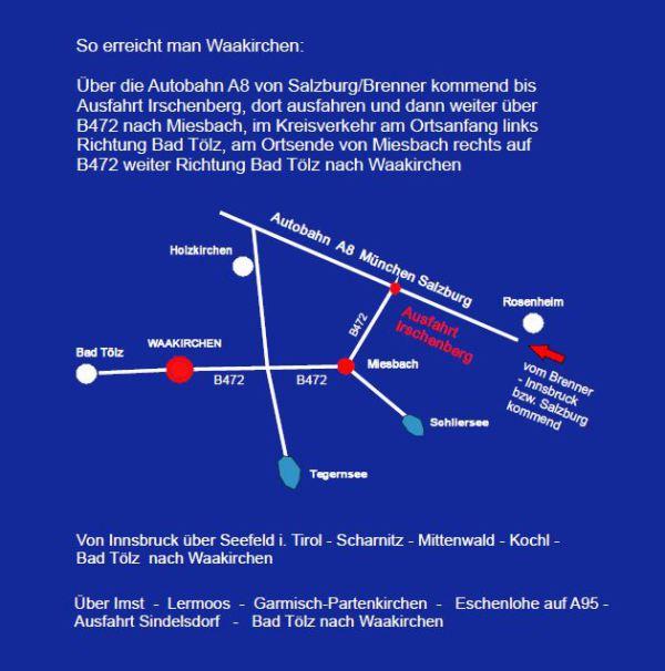 Gebirgsschützen Waakirchen / Lageplan Alpenregionstreffen 2016 / Zum Vergrößern auf das Bild klicken