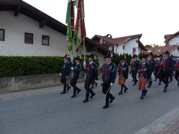Speckbacher Schützenkompanie Rum / Bezirksfest Rum / Zum Vergrößern auf das Bild klicken