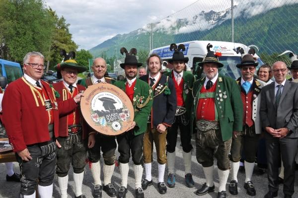 Hans Bergmann / Alpenregion / Zum Vergrößern auf das Bild klicken
