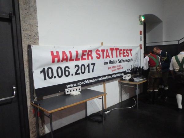 Speckbacher Schützen Hall / Hall Aktiv 2017 / Zum Vergrößern auf das Bild klicken