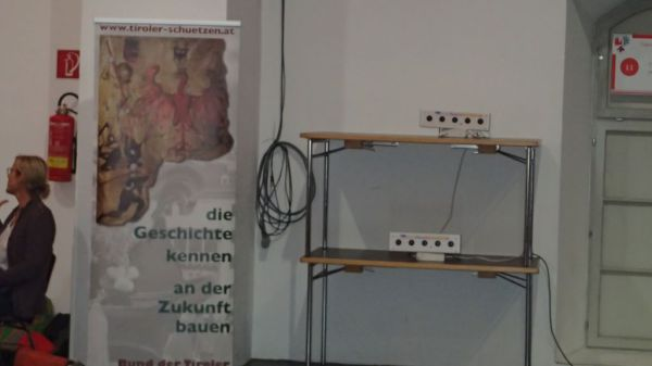 Speckbacher Schützen Hall / Schießanlage Bund / Zum Vergrößern auf das Bild klicken