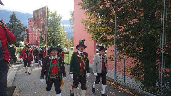 Speckbacher Schützen Hall / Landeskommandanten / Zum Vergrößern auf das Bild klicken