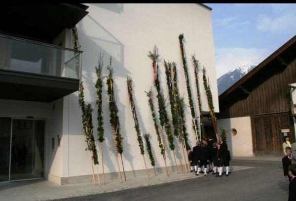 Andreas Hofer Schützen Schwaz / Palmsonntag Schwaz / Zum Vergrößern auf das Bild klicken