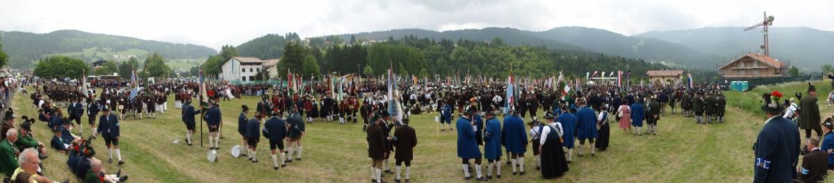 Otto Siegele, Schützenkompanie Kappl / Alpenregionsfest 2012 Folgaria / Zum Vergrößern auf das Bild klicken