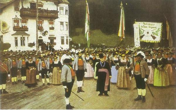 Regiment Zillertal / penz_1908-1914_20190716 / Zum Vergrößern auf das Bild klicken