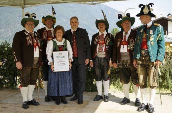 Schützenkompanie Wilten / Margarethen Medaille Umhausen / Zum Vergrößern auf das Bild klicken