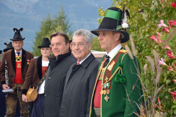 Land Tirol / Sax / Empfang Fischer Lans / Zum Vergrößern auf das Bild klicken