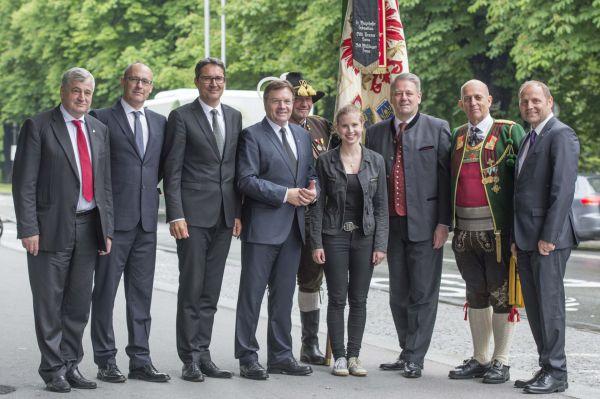 Hans Gregoritsch / Politik Landesgedenken / Zum Vergrößern auf das Bild klicken