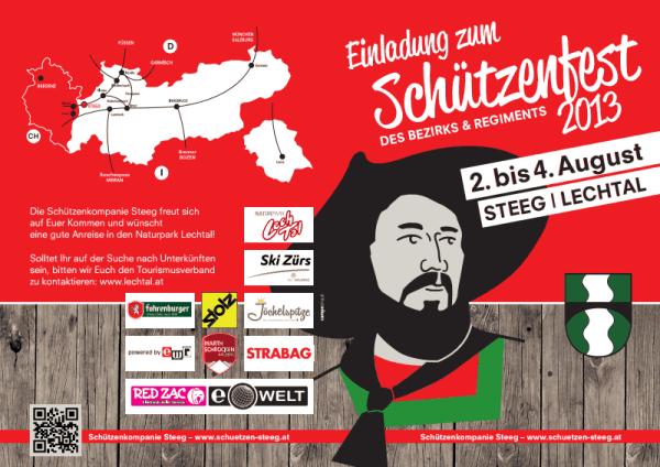 SK Steeg / regimentsfest / Zum Vergrößern auf das Bild klicken