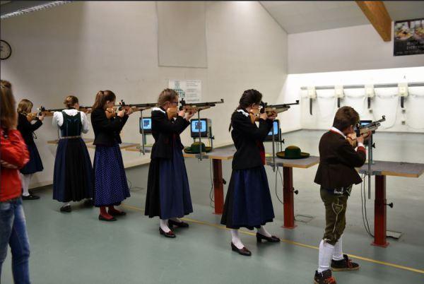 SSB Online Team / Landesjungschützenschießen Auer / Zum Vergrößern auf das Bild klicken