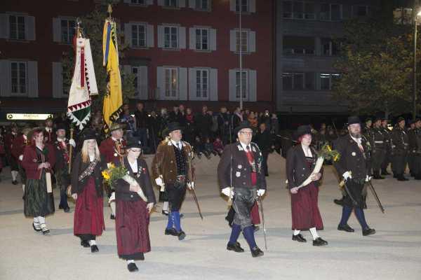 Land Tirol Die Fotografen / schutzenkompanie_lechaschau_vils / Zum Vergrößern auf das Bild klicken