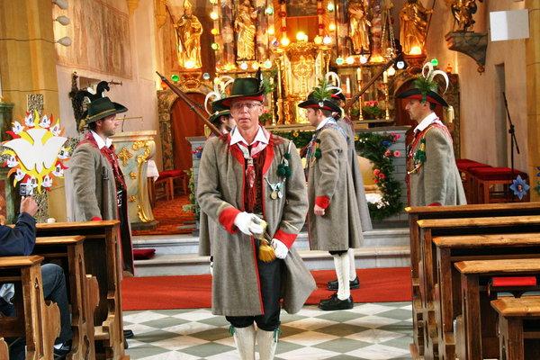 Schützenkompanie St. Veit / Grabwache St. Veit / Zum Vergrößern auf das Bild klicken