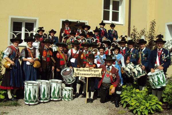 Trommelzug Baon Starkenberg / trommelzug_baon_starkenberg0 / Zum Vergrößern auf das Bild klicken