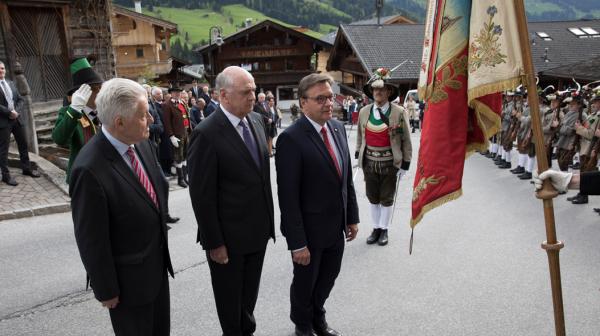 Thomas Saurer / Landeshauptleute-Konferenz / Zum Vergrößern auf das Bild klicken