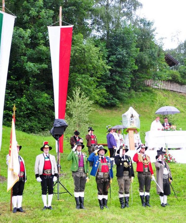 Manfred Hassl / Bataillonsfest Lans / Zum Vergrößern auf das Bild klicken