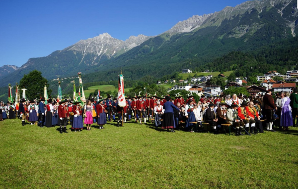 Erich Staudinger / Bataillonsfest IBK / Zum Vergrößern auf das Bild klicken